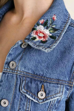 Umgee USA Willow Jean Jacket - Product List Image