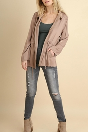Umgee USA Zipper Front Jacket - Front full body