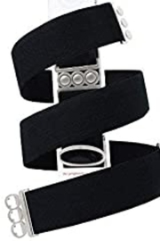 Unbelts Black Silver Onesize - Product Mini Image