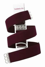 Unbelts Merlot Adjustable Unbelt - Front cropped