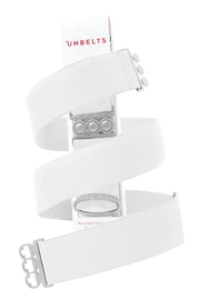 Unbelts White  Adjustable Unbelt - Product Mini Image