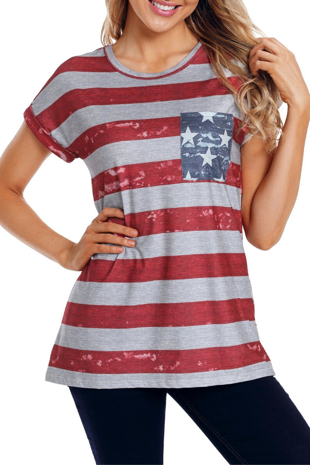 Unbranded American Flag Tee - Main Image
