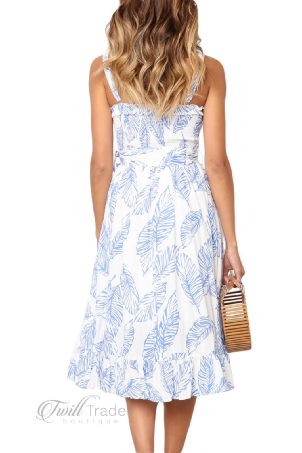 Unbranded Bliss Sun Dress - Side Cropped Image