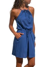 Unbranded Blue Suspender Dress - Product Mini Image