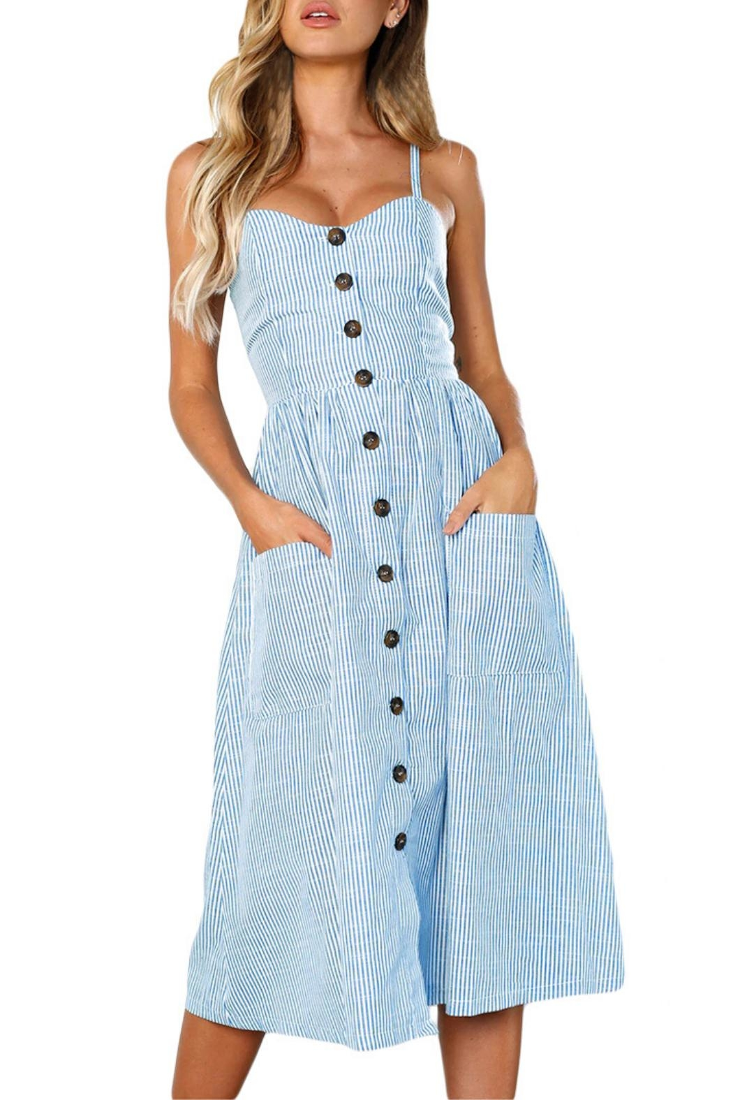Unbranded Button Down Dress - Main Image