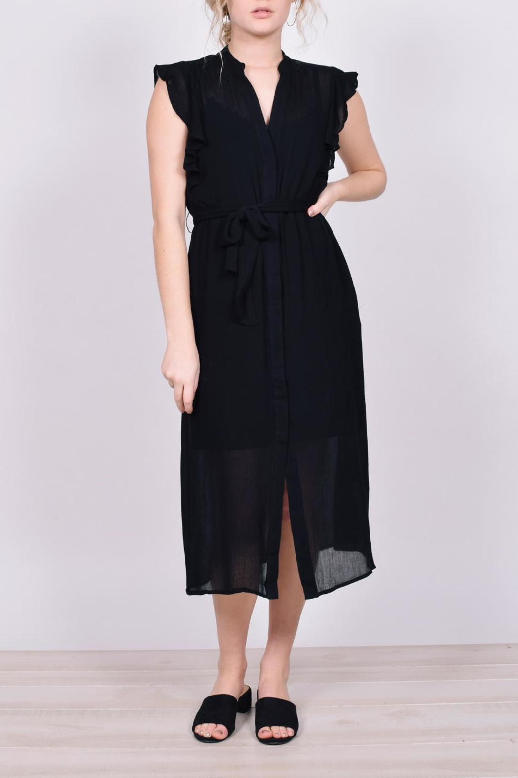 Unbranded Button-Down Midi Dress - Main Image