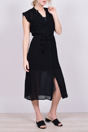 Unbranded Button-Down Midi Dress - Front full body