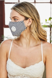 Unbranded Checkerd Vented Mask - Product Mini Image