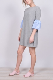 Unbranded Conotrast Sleeve Dress - Product Mini Image