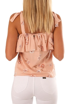 Unbranded Coral Floral Top - Alternate List Image
