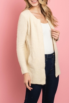 Unbranded Cream Knit Cardigan - Product List Image