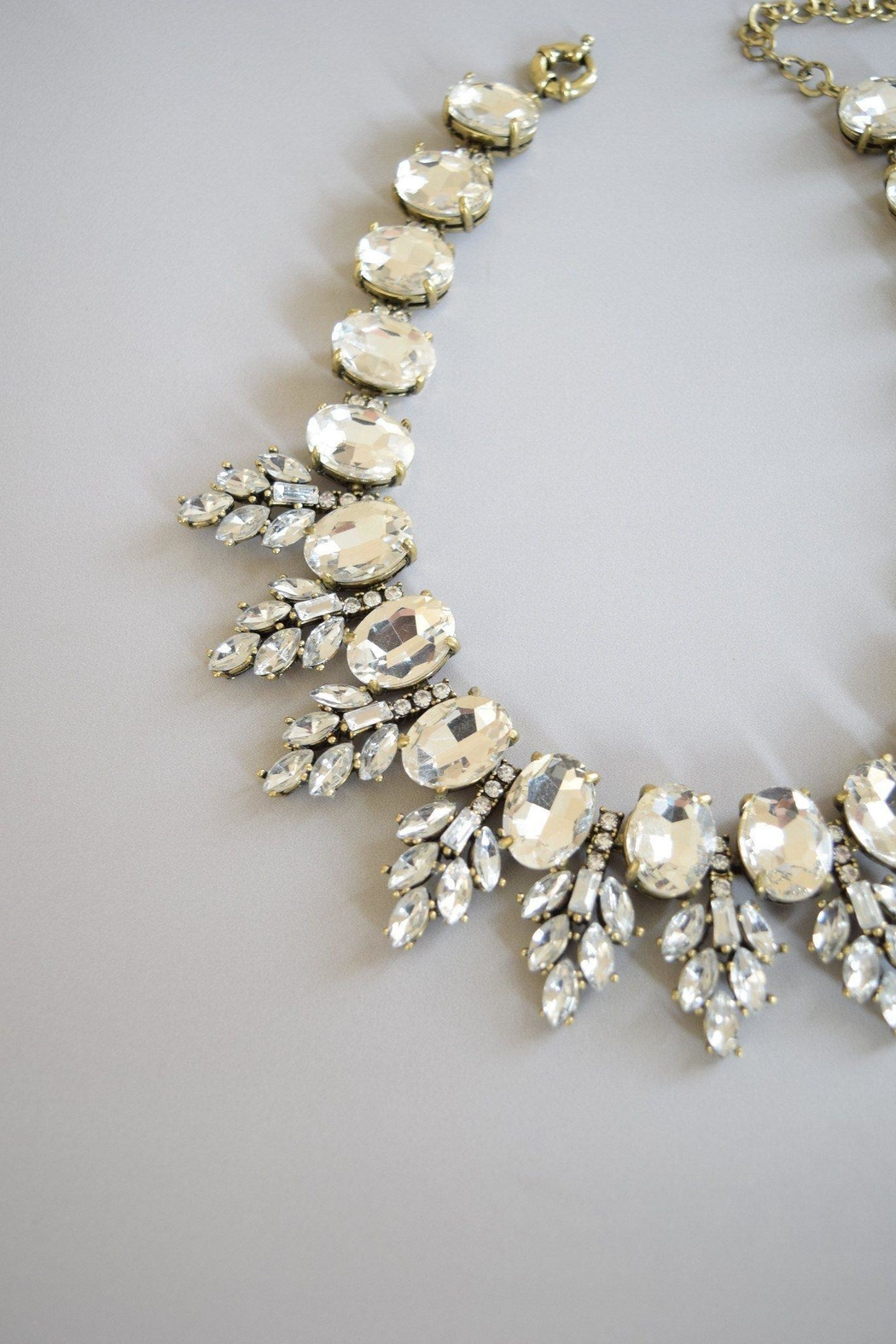 Unbranded Crystal Statement Necklace - Front Full Image