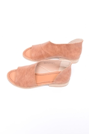 Unbranded Cutout Peep-Toe Flat - Side cropped