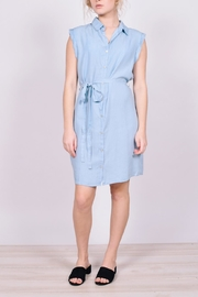 Unbranded Denim Button-Down Dress - Product Mini Image