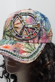 Unbranded Embellished Peace Hat - Front cropped