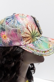 Unbranded Embellished Peace Hat - Front full body