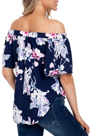 Unbranded Floral Print Blouse - Front full body