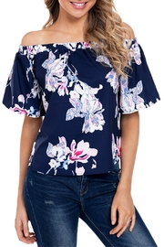 Unbranded Floral Print Blouse - Front cropped