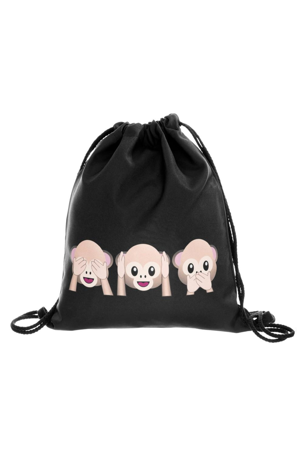 Unbranded Fun Character Backpack - Back Cropped Image
