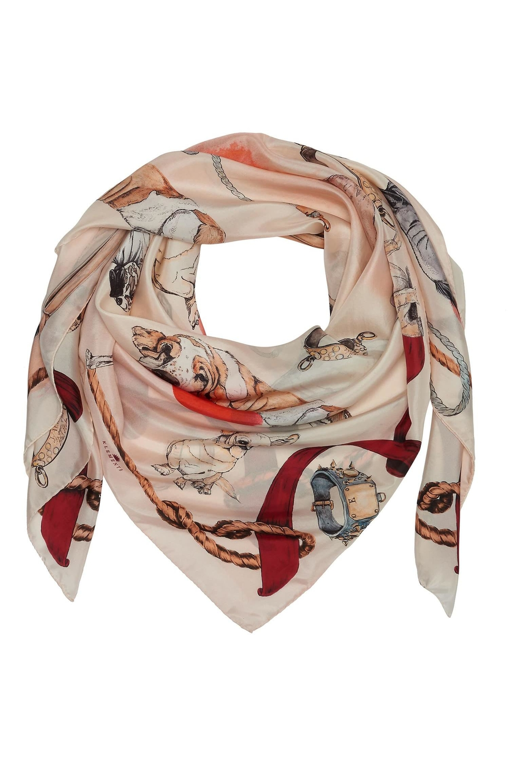Klements Good Boy Scarf - Front Full Image