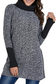 Unbranded Gray Black Sweater - Product Mini Image