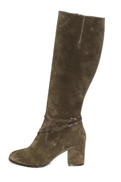 Shoptiques Product: Green Suede Boots