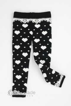 Unbranded Heart Thermal Leggings - Product List Image