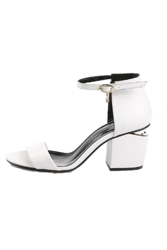 Unbranded Heeled Leather Sandals - Product List Image