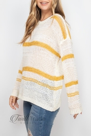Unbranded Ivory Mustard Sweater - Front full body