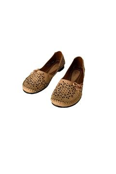 Unbranded Brown Leather Slippers - Alternate List Image