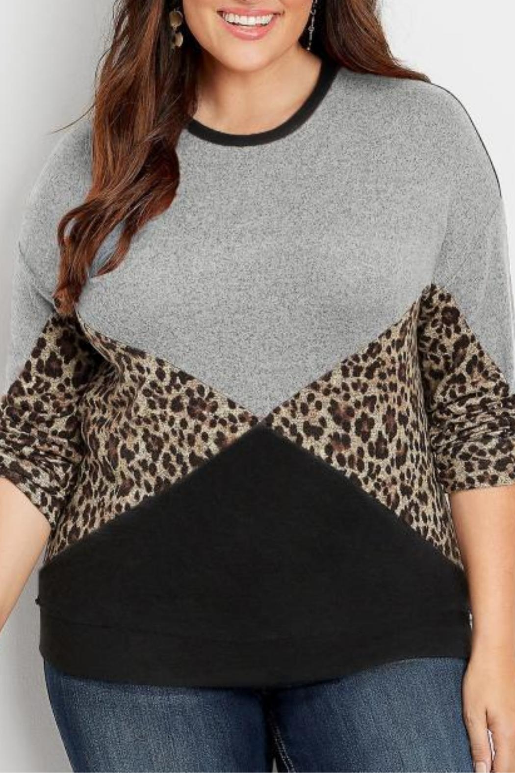 Unbranded Leopard Print Sweater - Main Image