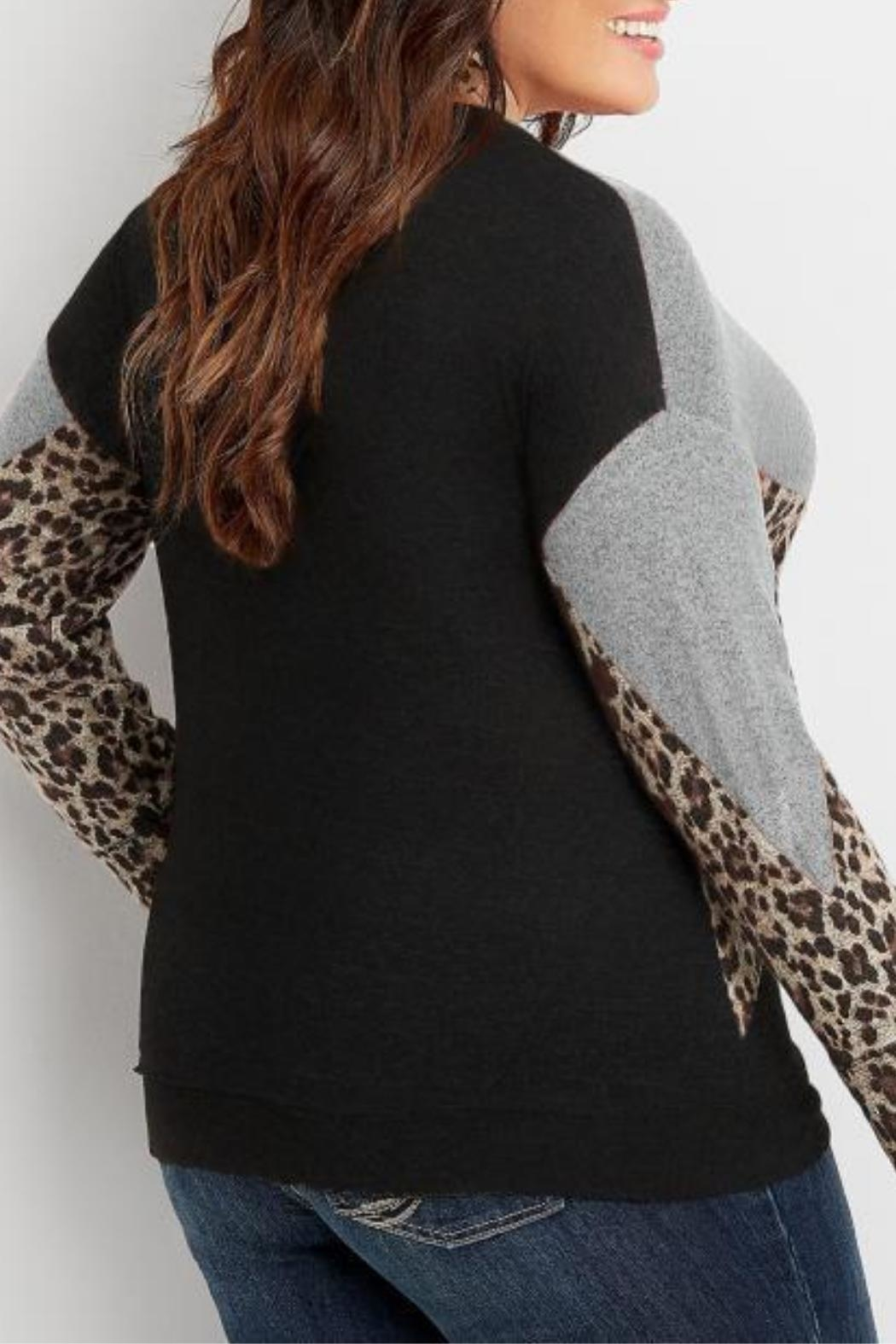 Unbranded Leopard Print Sweater - Front Full Image