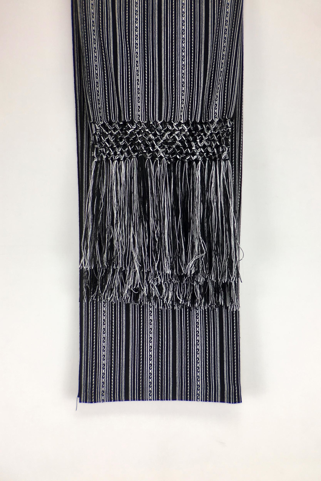 Unbranded Manta-Inca-Woven-Textile Handcrafted Rebozo-Shawl - Front Full Image