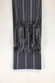 Unbranded Manta-Inca-Woven-Textile Handcrafted Rebozo-Shawl - Front full body