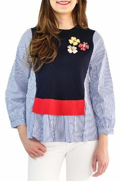 Shoptiques Product: Navy Blue Sweater
