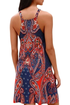 Unbranded Navy Coral Dress - Alternate List Image