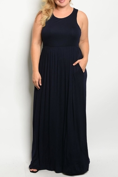 Unbranded Navy Maxi Dress - Product List Image