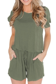 Unbranded Olive Romper - Product Mini Image
