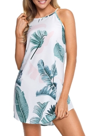 Unbranded Palm Print Dress - Side cropped