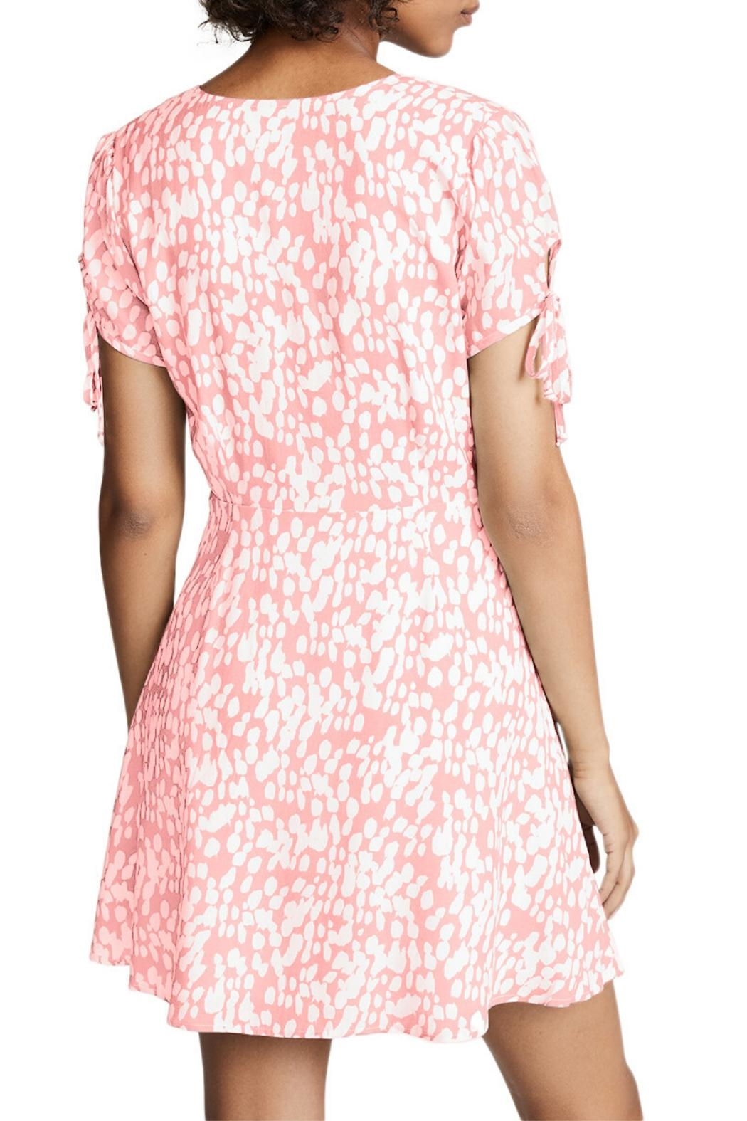 Unbranded Pink Floral Dress - Front Full Image