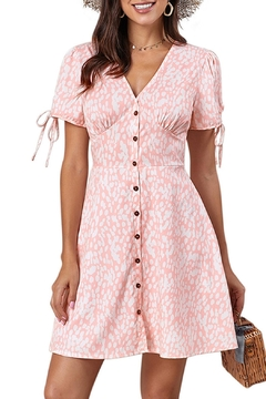 Unbranded Pink Floral Dress - Product List Image
