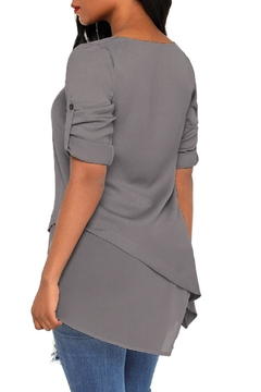 Unbranded Roll-Tab Asymmetric Tunic - Alternate List Image