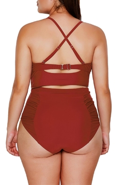 Unbranded Rust Strappy Bikini - Alternate List Image