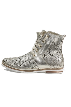 Shoptiques Product: Silver Mesh Booties