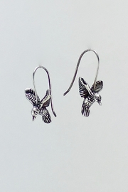 Unbranded Sterling-Silver Hummingbird Earrings - Product Mini Image