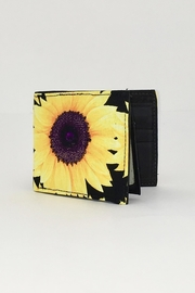 Unbranded Sunflower-Print Hancrafted Billfold-Wallet - Product Mini Image
