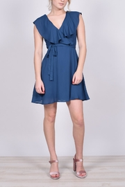 Unbranded Teal Ruffle Dress - Other