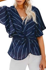 Unbranded Twist Front Blouse - Product Mini Image
