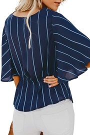 Unbranded Twist Front Blouse - Front full body