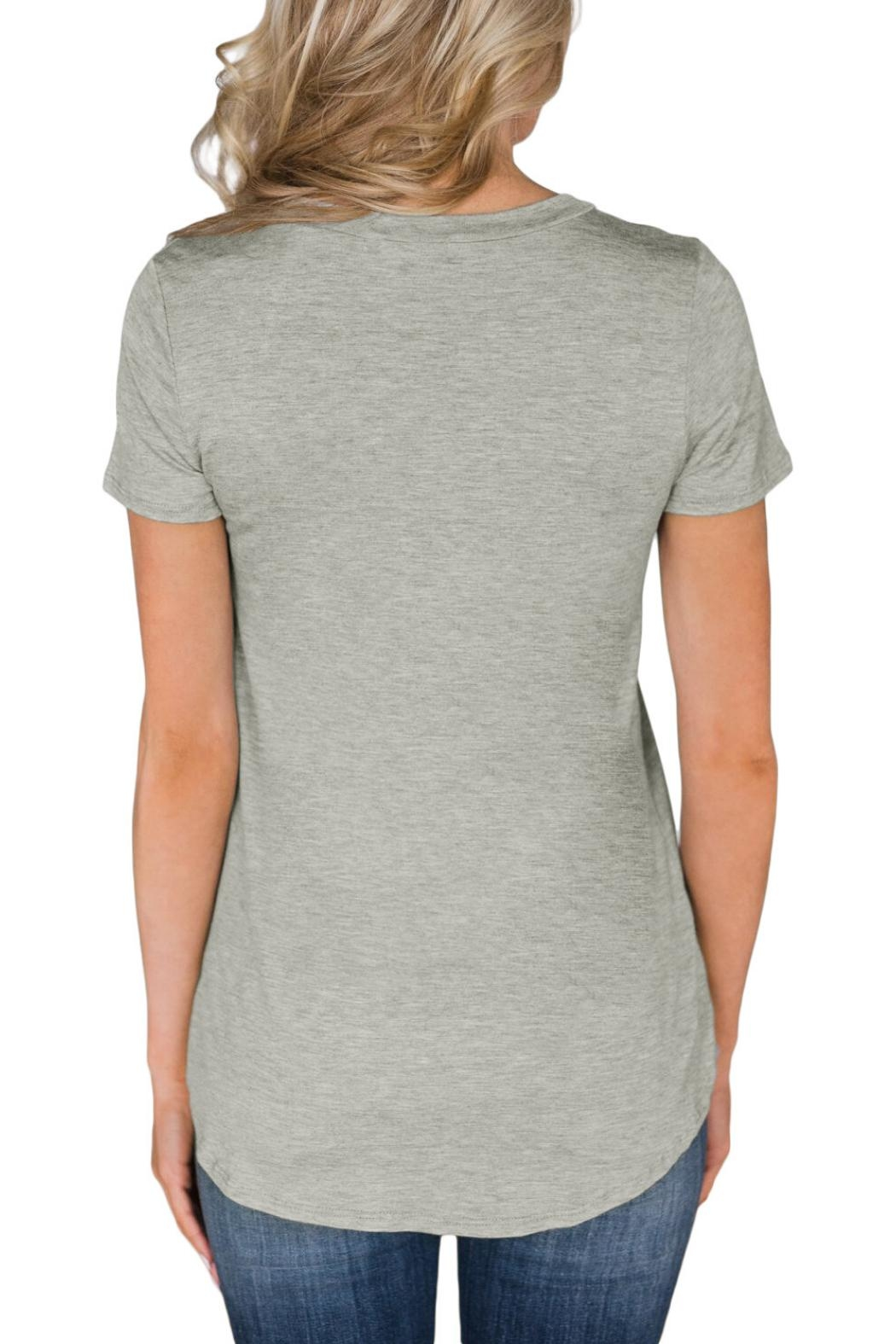 Unbranded Usa Slim Tee - Side Cropped Image